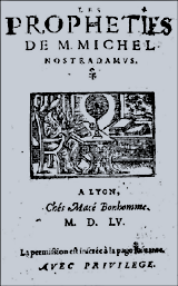 Erstausgabe 1555 Nostrada,us Centuries